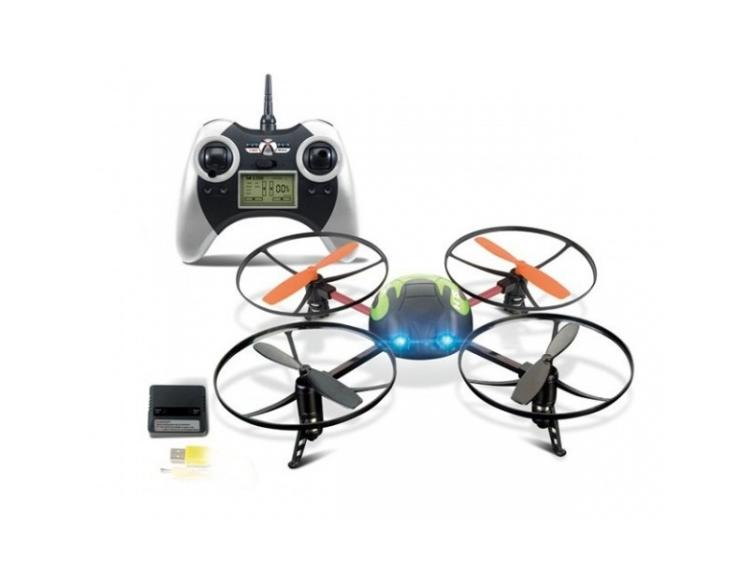 Attop yd-928 4ch 6-axis rc quadcopter ufo w/ gyro rtf 24ghz white -- us seller